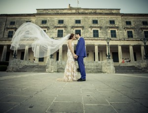 A wedding in Corfu