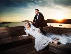 Wedding in Sounion
